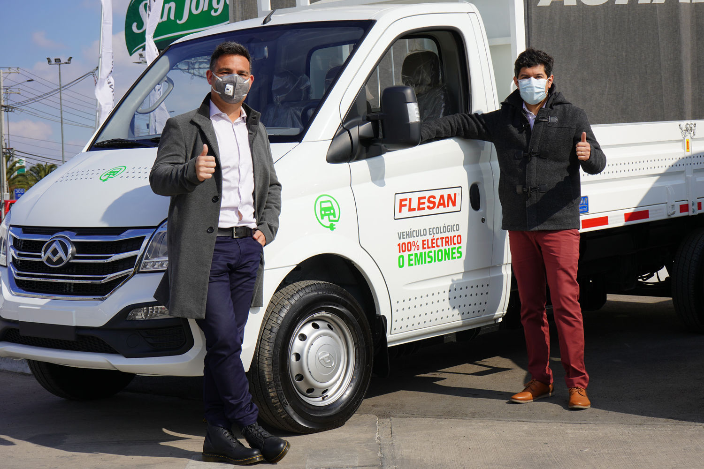 Flesan Obras Públicas adquiere moderna flota de vehículos eléctricos