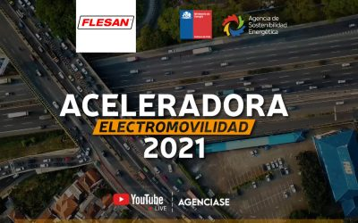 Flesan participa del lanzamiento de la Aceleradora de Electromovilidad 2021