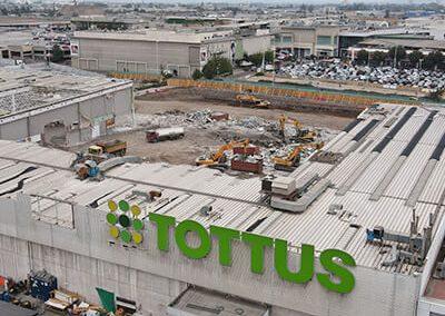 Demolición Tienda IKEA Mall Plaza Oeste