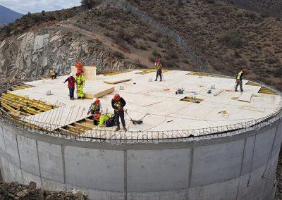 Estanque Semienterrado de AP San Esteban