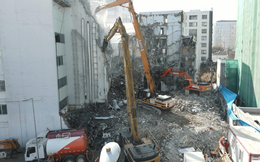 Flesan Demoliciones y Flesan Minería son finalistas de los World Demolition Awards 2021