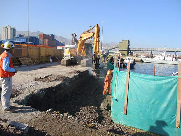 Obras civiles en Puerto Antofagasta 5
