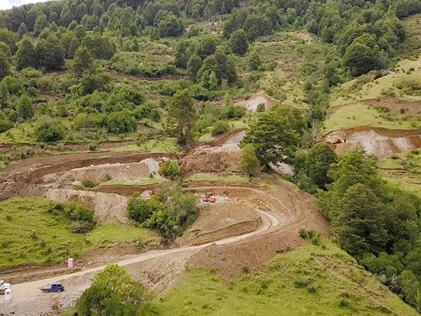 Obra en Hidroeléctrica San Victor 7