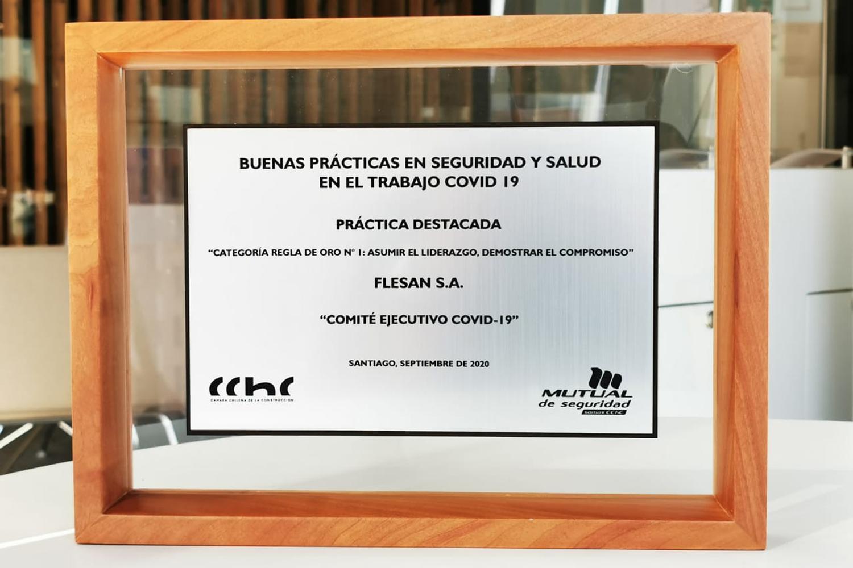 Grupo Flesan destaca en Premio de CChC por Buenas Prácticas en Seguridad