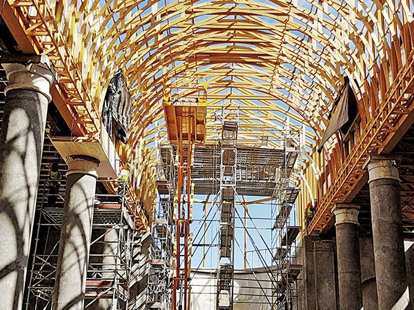 Restauraciones en el techo 3
