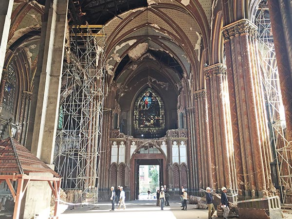 Restauraciones Basílica del Salvador 1