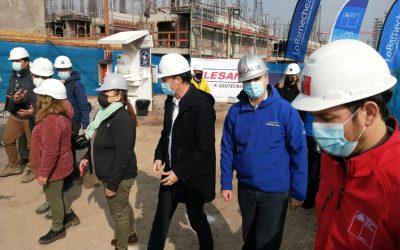 Autoridades visitan proyecto Juan Pablo II para iniciar nueva etapa tras obras de Flesan